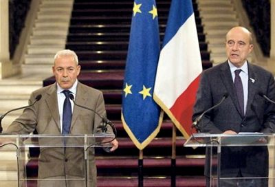 Created in Paris under French sponsorship, the Syrian National Council aims to overthrow the regime of President Bashar al-Assad. It is chaired by Burhan Ghalioun, professor of sociology at Sorbonne University (he is seen here with French Foreign Minister Alain Juppé, 23 November 2011).