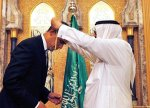 Barack Hussein Obama was in June 2009 crowned by the King of Saudi Arabia, the most powerful member of the Arab League.