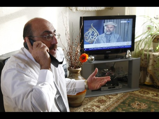 The director of the Fake Syrian Observatory for Human Rights, Rami Abdulrahman, alias Osama Ali Suleiman