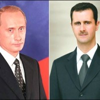 President al-Assad Congratulates Putin on Winning Presidential Elections (+Video)