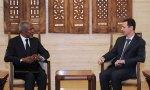 Bashar Assad, Kofi Annan