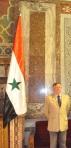 Damasco: il dott.Gianantonio Valli nella sede del Parlamento della Repubblica Araba di Siria