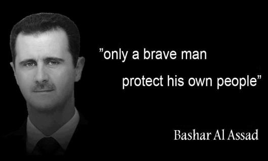 Bashar-al-assad-A-brave-man