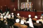 El Gran Mufti de la Republica Amed Bader Addin Hassoun