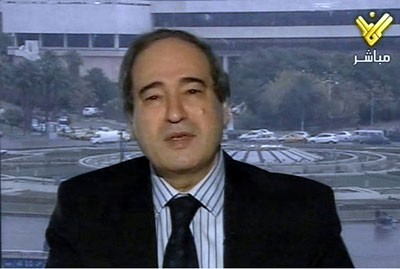 Deputy Foreign and Expatriates Minister-Dr Fayssal Mikdad