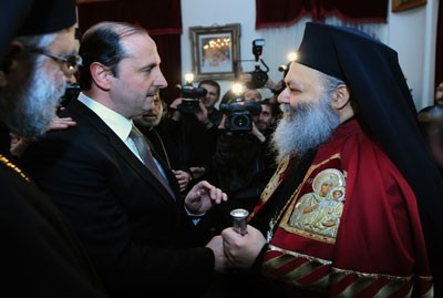 Greek Orthodox Patriarch of Antioch and all the East John X Yazigi