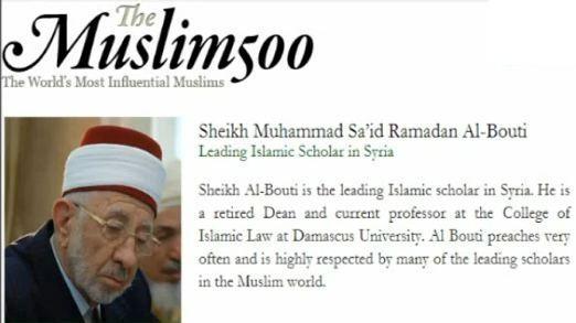 Sheikh Muhammad Said Ramadan al-Bouti