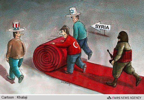 USA, Israel, Turkey helping ISIS