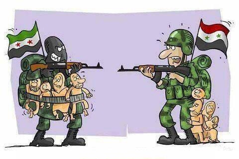 Image result for Syrian Army CARTOON
