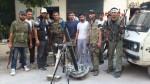 Syrian_FSA_Terrorists_Mortars