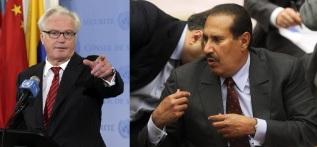 Vitaly Churkin+Hamad Bin Jassim