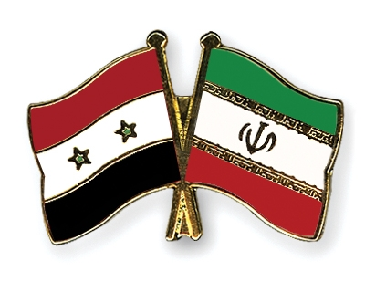 Syria-Iran-flags