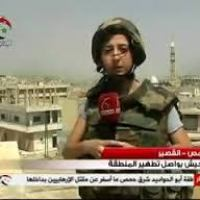 Syrian Journalist & TV Reporter, Yara Abbas, Killed by Sniper Terrorist Near Daba'a Airport (TEXT Eng-Ita-Fra-Esp +VIDEO Eng-Fra)