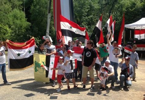piccoli patrioti siriani