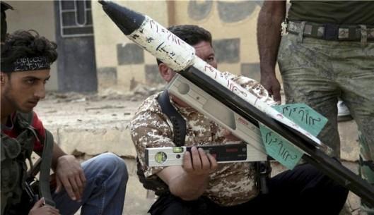 Al-Nusra Front members-20130720