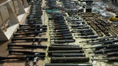 Arms-and-ammunition-captured-from-insurgents-in-Syria
