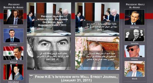 bashar-hafez-al-assad-interview-speeches
