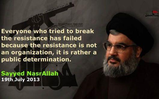 Nasrallah-resistance