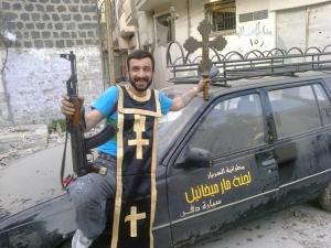 rebel destroys christian