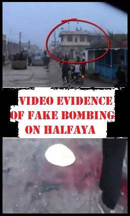 Halfaya Fake Bombing