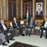 Anti-US-Zionist project movement discussed by Syrians and Lebanese Baath Party's leaderships