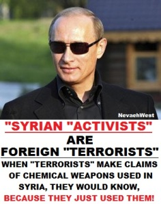 chem claims by terrorists again... LIARS