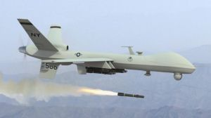 drone firing