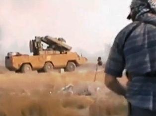 Free Syrian Army Mercenaries with Russian SA-8 New Babylonian
