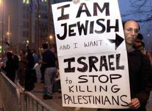 jew wants zionist to stop killing palestinians