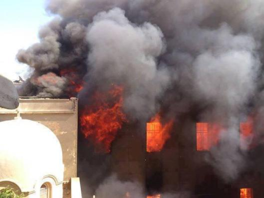 Prince Tadros church in Minya-Egypt