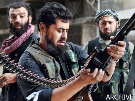 terrorist pimp in the Sheikh Maqsoud district of Aleppo_2