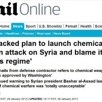 EVIDENCES : U.S. 'backed plan to launch chemical weapon attack on Syria and blame it on Assad's regime'