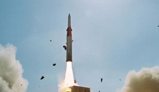 ISRAEL LAUNCHES ARROW MISSILE