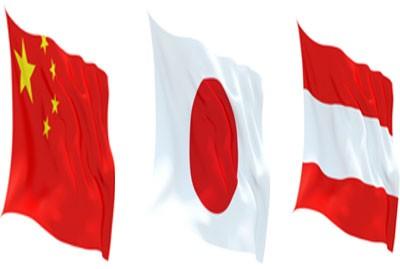 China-Austria-Japan