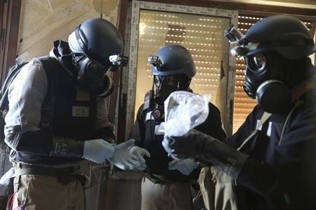 SYRIA-CRISIS-INSPECTORS