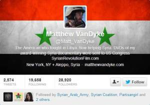 Matthew VanDyke) - Email & Twitter Hacked by the SEA