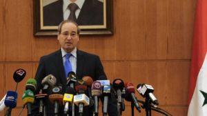 Syrian Deputy Foreign Minister Faisal Muqdad