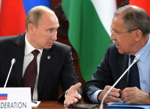 Vladimir+Putin+Sergei+Lavrov+BRICS