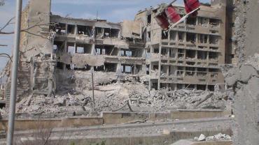 Al Kindi Hospital in Aleppo