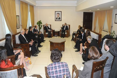 meeting with an Australian solidarity delegation-2
