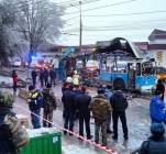 Explosion on trolleybus in Volgograd
