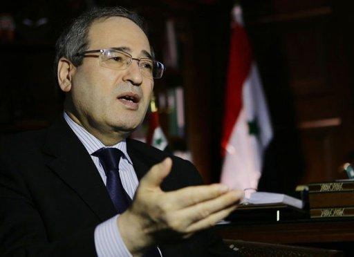Syrian deputy foreign minister Faisal Muqdad-2