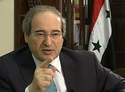 Syrian deputy foreign minister Faisal Muqdad-3