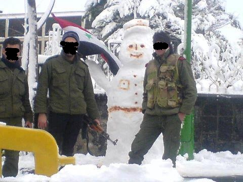 syrian-soldiers+in+snow