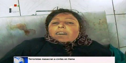 Terroristas masacran a civiles en Hama