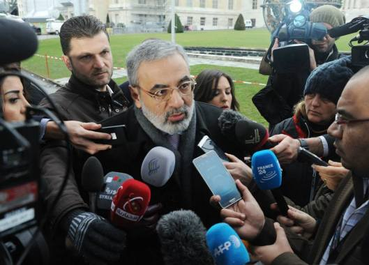 Syrian Information Minister Omran Al-Zoubi