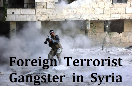 Foreign  Terrorist in syria 2014