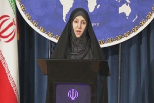 Iranian Foreign Ministry Spokesperson Marzieh Afkham