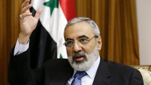 Omran al-Zoubi-salute