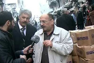 supplies have entered al-Yarmouk Camp-1